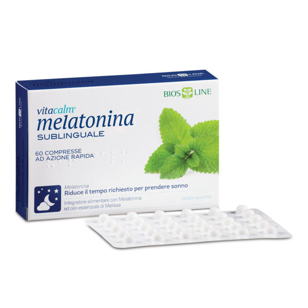 Bios Line Vitacalm Melatonina Sublinguale